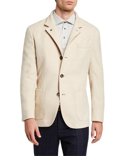 Men's Cashmere Blazer