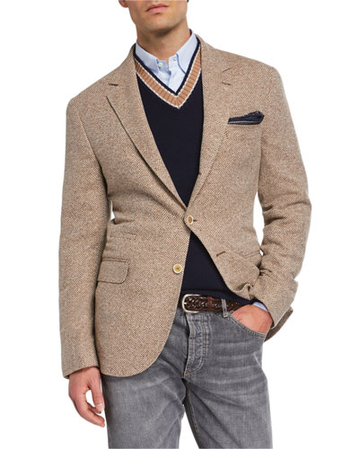 0cebe6a11 Brunello Cucinelli Men's Collection : Jackets at Bergdorf Goodman