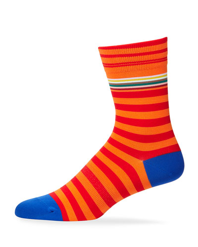 Men's Striped Knit Socks
