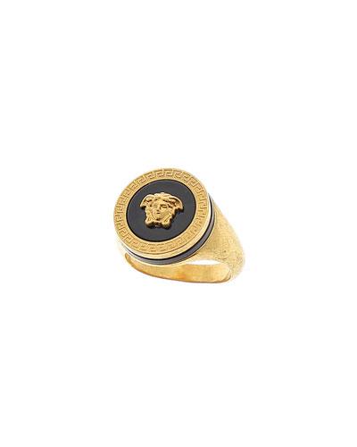 Men's Tribute Medusa Head Ring
