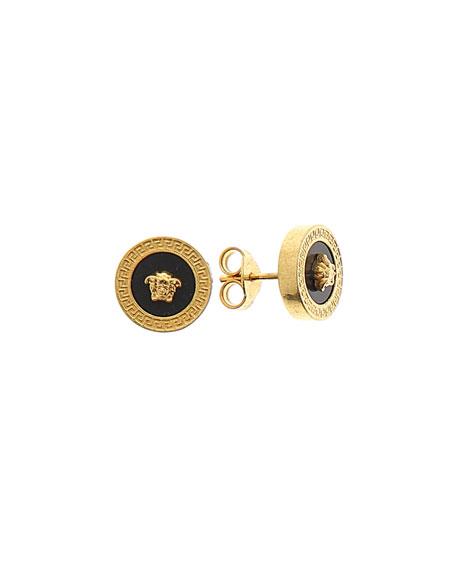 c64e5573e Versace Men's Tribute Medusa Head Stud Earrings