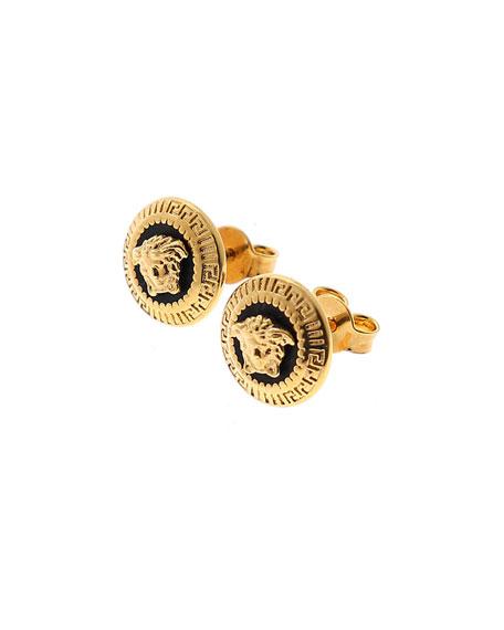 269175d2e Versace Men's Medusa Head Stud Earrings