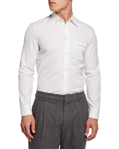 Men's Dale Solid Slim-Fit Sport Shirt