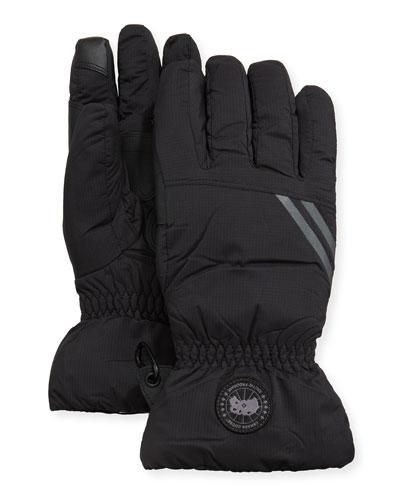 Men's Hybridge Down-Filled Nylon Gloves
