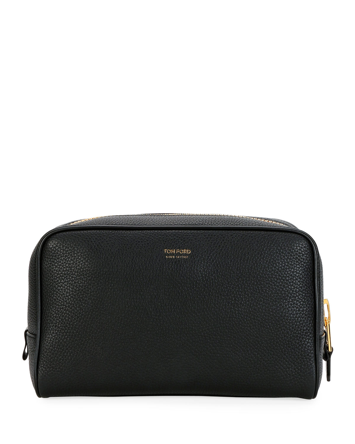Tom Ford Travel Men's Lifestyle Leather Toiletry Travel Case