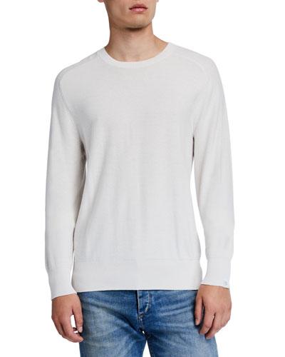 Men's Lance Crewneck Cotton Sweater