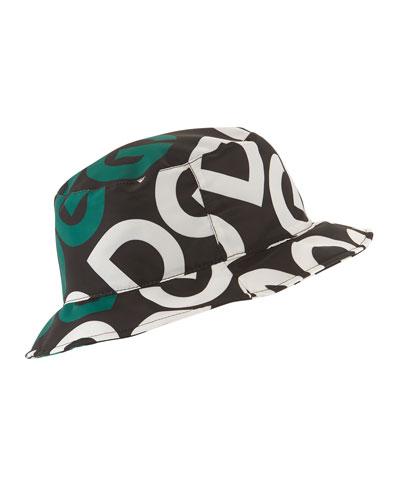 Men's Logo Mania Bucket Hat