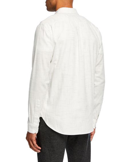 Men's Crosshatch Sport Shirt