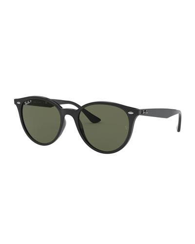 Men's Round Propionate Sunglasses