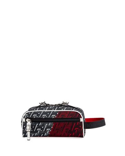 Men's Blaster Two-Tone Monogram Belt Bag