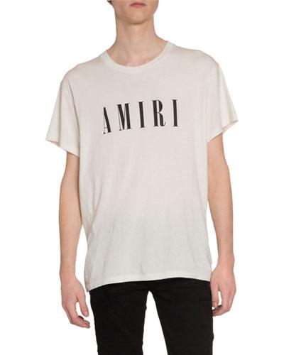 Men's Logo Typographic T-Shirt