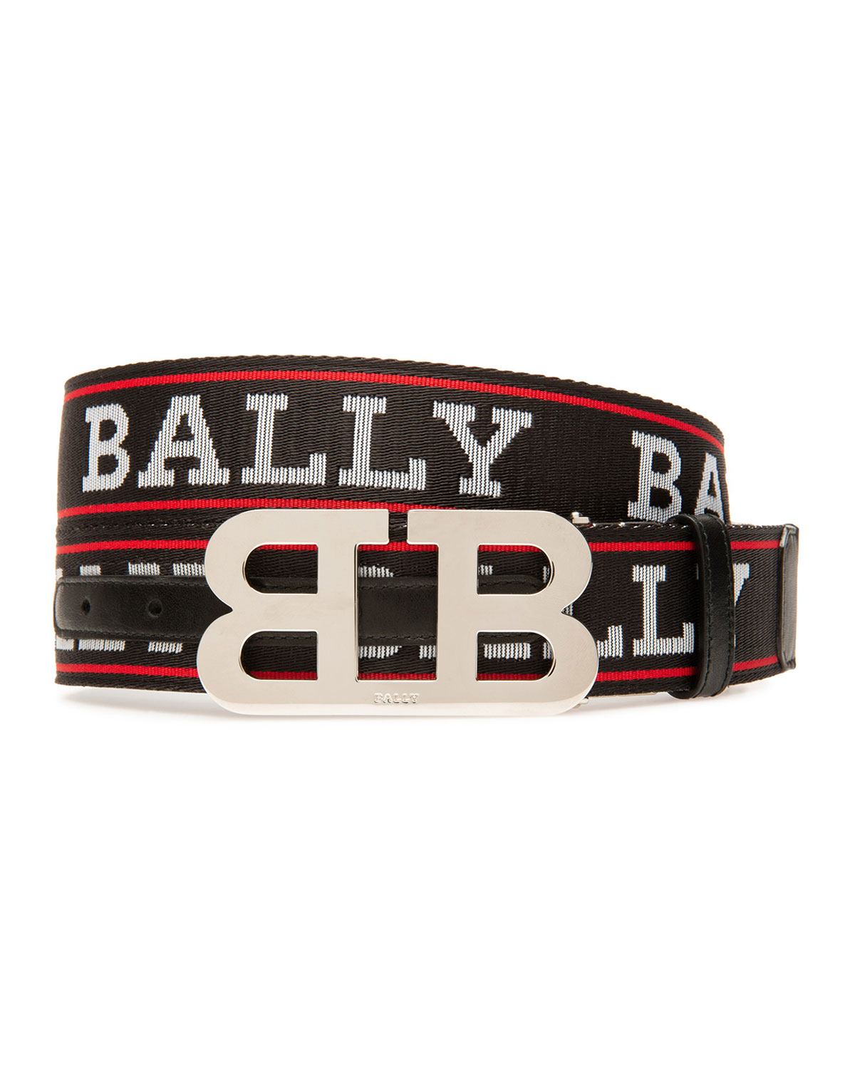 Bally Belts Men's Mirror Double-B Reversible Belt
