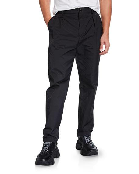Men's Pleated Weave Pants