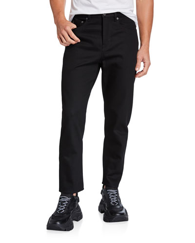Men's 5-Pocket Straight-Leg Jeans