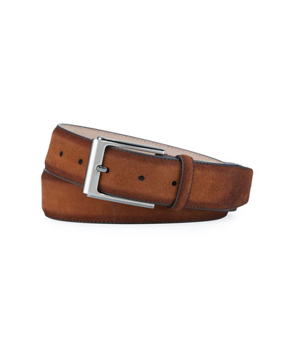 Men's Antidifu Suede Belt
