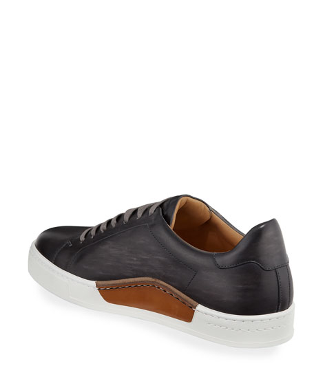 Men's Low-Top Leather Sneakers