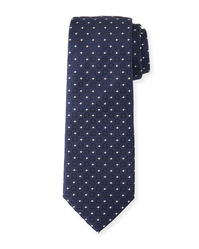 Louis Gancini & Dot Tie  Blue