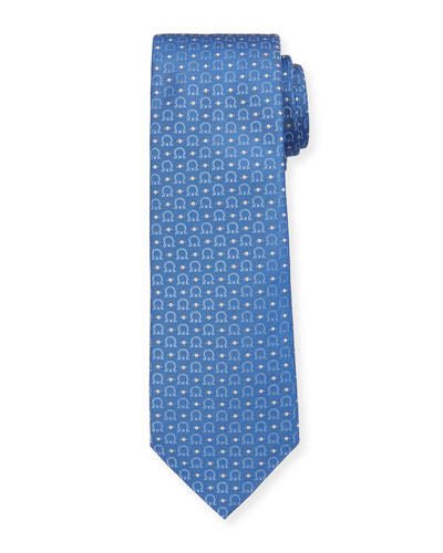 Louis Gancini & Dot Tie  Blue