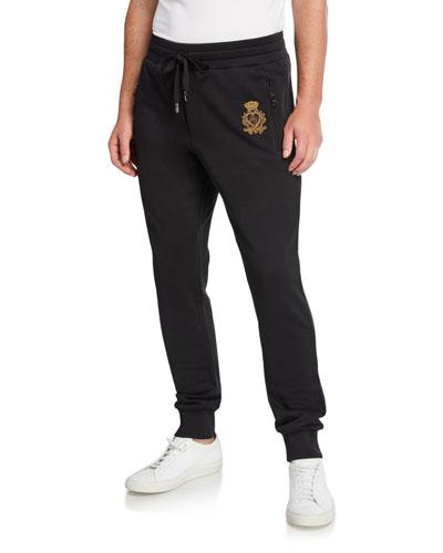 Men's Signature Crest Sweatpants