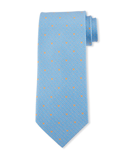 Card Suite Silk Tie