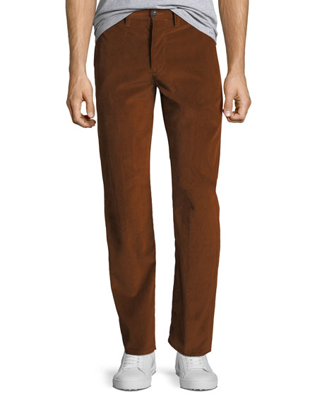 Men's Five-Pocket Corduroy Trousers