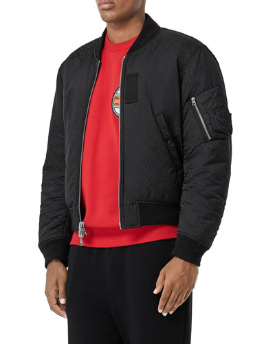 Men's Reversible Bomber Jacket