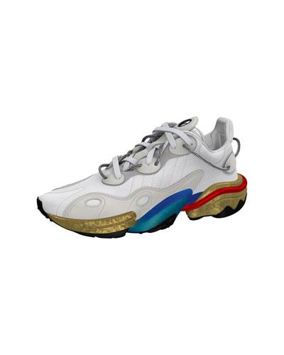 Men's Torsion X Multicolor-Sole Runner Sneakers