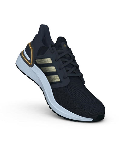 Men's Ultraboost 20 Metallic Primeknit Runner Sneakers