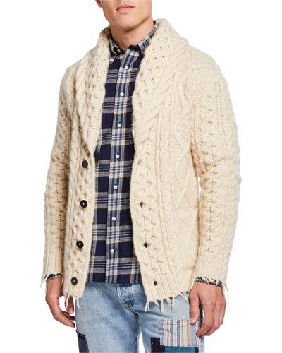 Men's Fisherman Icon Cardigan