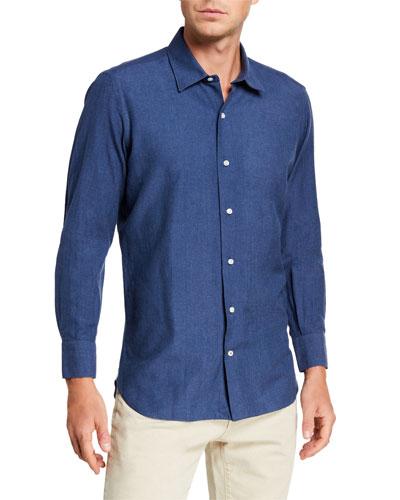 Men's Arthur Denim Sport Shirt
