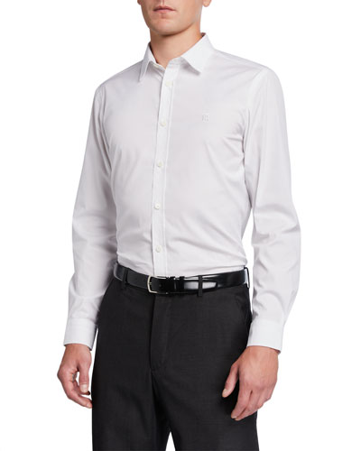 Men's Louis Classic Sport Shirt  White