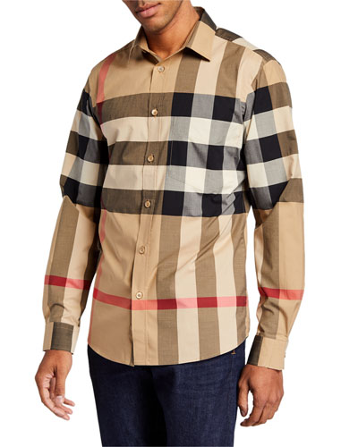 Men's Somerton Check Sport Shirt