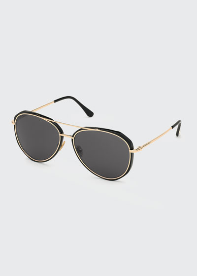 Men's Vittorio Classic Aviator Sunglasses