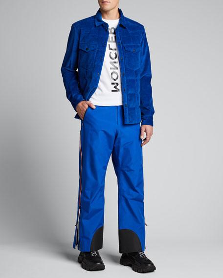 Men's Grenoble Gelt Quilted Corduroy Coat