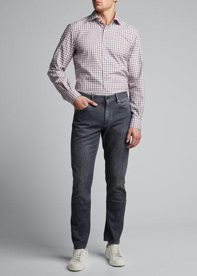 Men's Check Sport Shirt