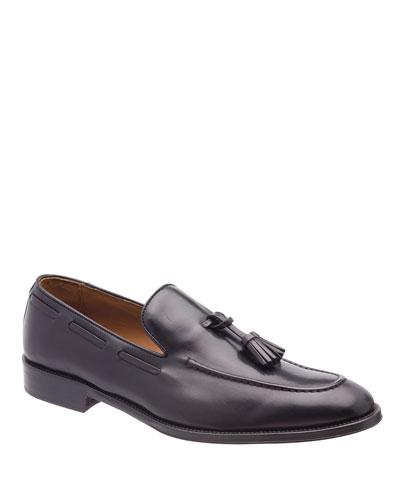 Men's Alfio Leather Tassel Loafers