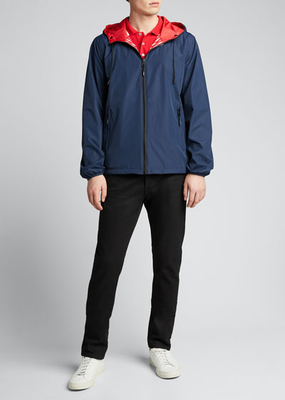 Men's Reversible Wind-Resistant Jacket