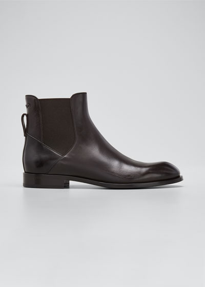 Men's Leather Chelsea Boots