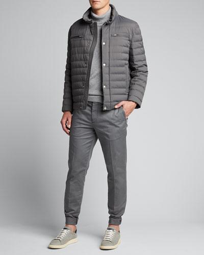 Men's Basic Fit Chino Pants