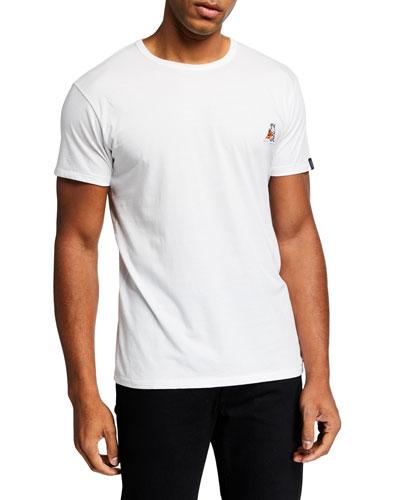 Men's Pizza Rat Crewneck T-Shirt