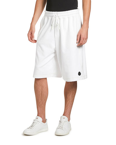 Men's Oversized Cotton Sweat Shorts