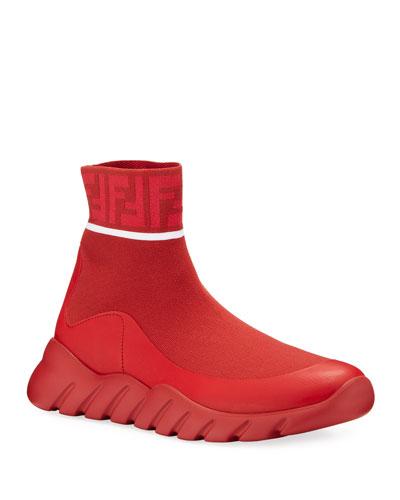 Men's FF Tonal Sock Runner Sneakers