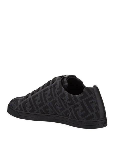 Men's Allover FF Low-Top Sneakers