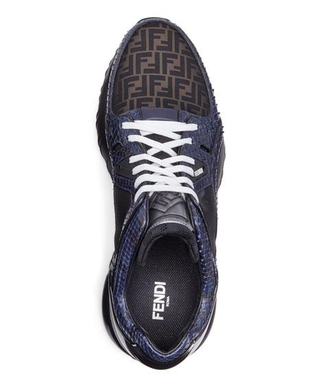 Men's Exotic Chunky Runner Sneakers
