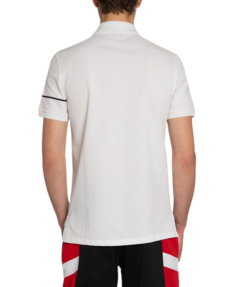 Men's New Givenchy Embroidered Polo Shirt