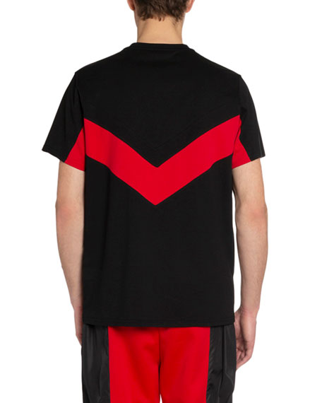 Men's Banded Sporty T-Shirt