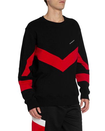Men's Banded Sport Sweatshirt