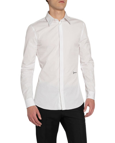 Men's Classic Signature Slim-Fit Sport Shirt