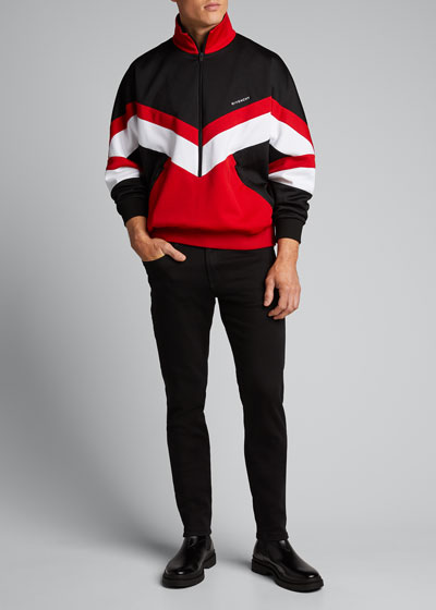 Men's Colorblock Chevron Tracksuit