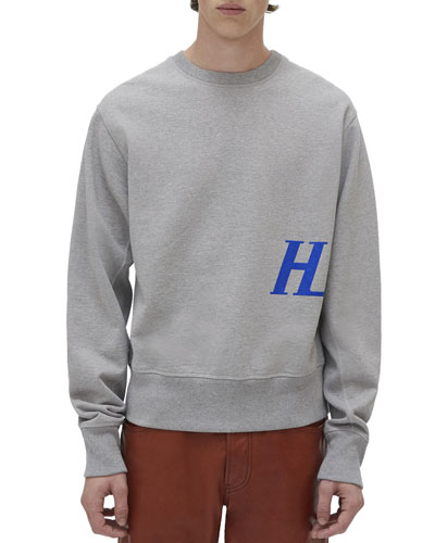 Men's Monogram-Graphic Crewneck Sweatshirt